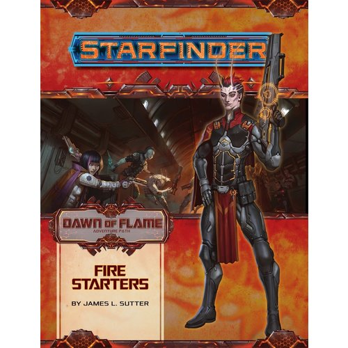 Paizo Publishing STARFINDER ADVENTURE PATH #13: DAWN OF FLAME 1 - FIRE STARTERS