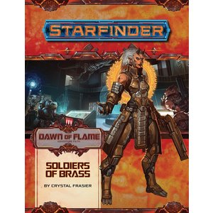 Paizo Publishing STARFINDER ADVENTURE PATH #14: DAWN OF FLAME 2 - SOLDIERS OF BRASS