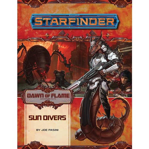 Paizo Publishing STARFINDER ADVENTURE PATH #15: DAWN OF FLAME 3 - SUN DRIVERS