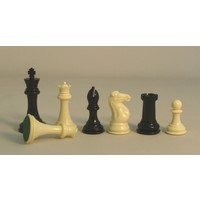 "CHESSMEN 3.75"" TOURNAMENT PLASTIC 3W"