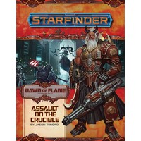 STARFINDER ADVENTURE PATH #18: DAWN OF FLAME 6 - ASSAULT ON THE CRUCIBLE
