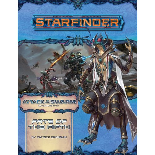 Paizo Publishing STARFINDER ADVENTURE PATH #19: ATTACK OF THE SWARM 1 - FATE OF THE FIFTH
