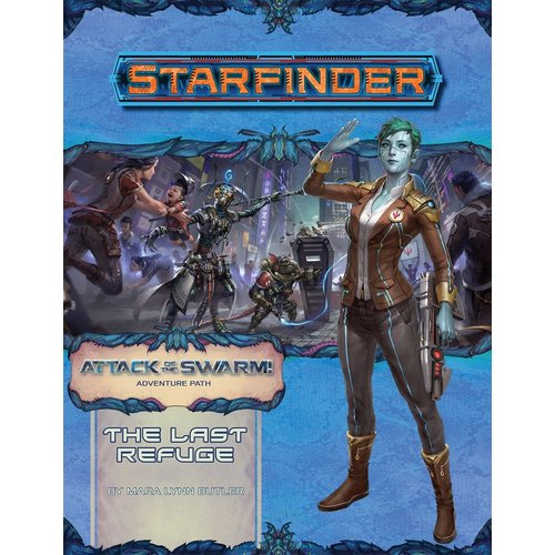 Paizo Publishing STARFINDER ADVENTURE PATH #20: ATTACK OF THE SWARM 2 - THE LAST REFUGE