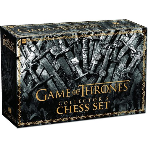 USA OPOLY CHESS SET GAME OF THRONES COLLECTOR'S