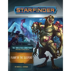 Paizo Publishing STARFINDER ADVENTURE PATH #26: THE THREEFOLD CONSPIRACY 2 - FLIGHT OF THE SLEEPERS