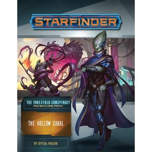 Paizo Publishing STARFINDER ADVENTURE PATH #28: THE THREEFOLD CONSPIRACY 4 - THE HOLLOW CABAL