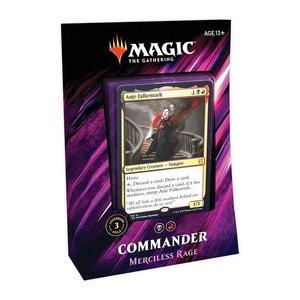 Wizards of the Coast MTG: 2019 - MERCILESS RAGE - COMMANDER DECK