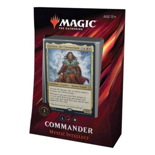 Wizards of the Coast MTG: 2019 - MYSTIC INTELLECT - COMMANDER DECK