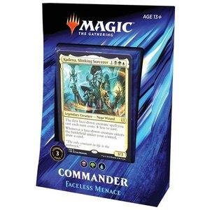 Wizards of the Coast MTG: 2019 - FACELESS MENACE - COMMANDER DECK