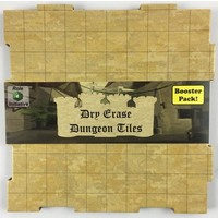 DRY ERASE DUNGEON TILES: BOOSTER PACK - EARTHTONE