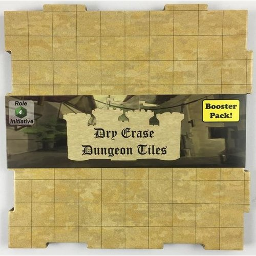 Role 4 Initiative DRY ERASE DUNGEON TILES: BOOSTER PACK - EARTHTONE