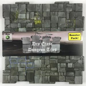 Role 4 Initiative DRY ERASE DUNGEON TILES: BOOSTER PACK - GRAYSTONE