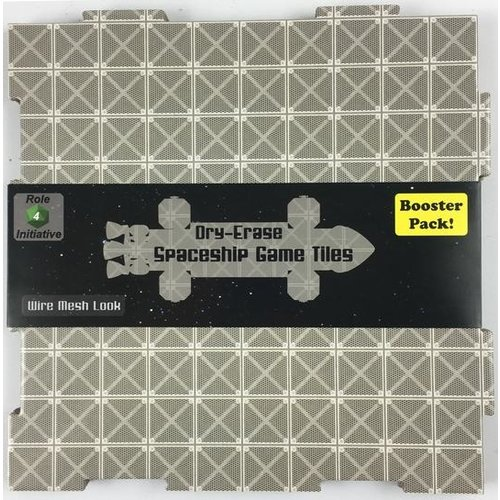 Role 4 Initiative DRY ERASE DUNGEON TILES: BOOSTER PACK - WIRE MESH