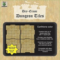 "DRY ERASE DUNGEON TILES: 5"" EARTHTONE PACK"