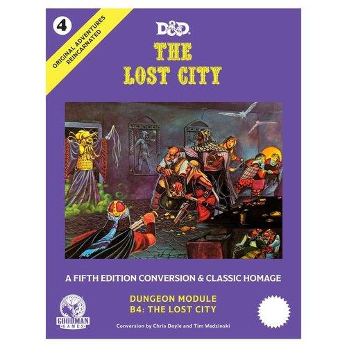 Goodman Games D&D 5E: ORIGINAL ADVENTURES REINCARNATED 4: THE LOST CITY