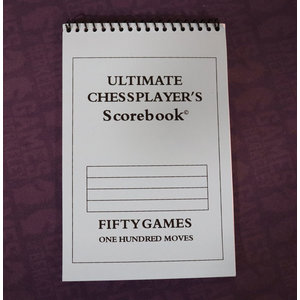 WOOD EXPRESSIONS CHESS SCOREBOOK ULTIMATE