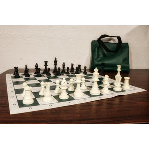 WOOD EXPRESSIONS CHESS SET BASIC CLUB SPECIAL