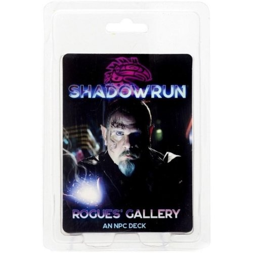 Catalyst Game Labs SHADOWRUN 6TH EDITION: ROGUE'S GALLERY - AN NPC DECK