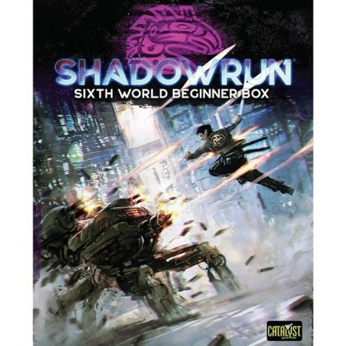 Catalyst Game Labs SHADOWRUN 6TH EDITION: BEGINNER BOX