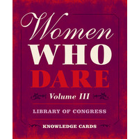 KNOWLEDGE CARDS: WOMEN WHO DARE V. 3