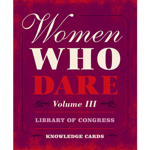 POMEGRANATE KNOWLEDGE CARDS: WOMEN WHO DARE V. 3