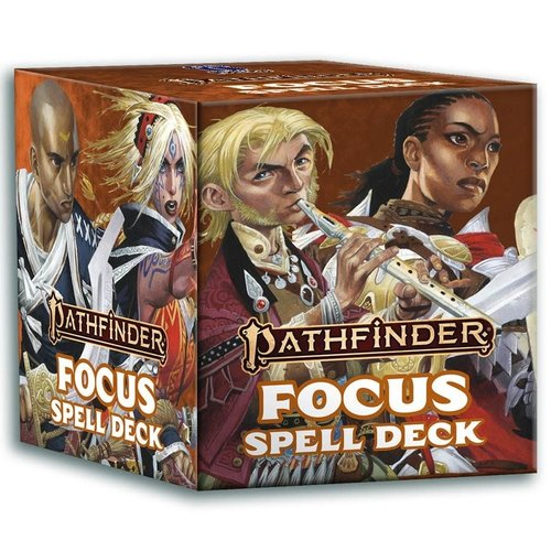 Paizo Publishing PATHFINDER 2ND EDITION: FOCUS - SPELL DECK