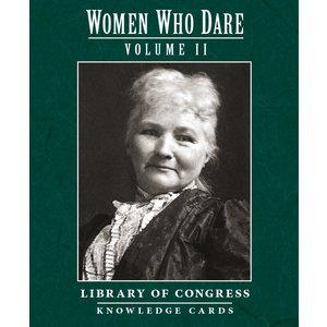 POMEGRANATE KNOWLEDGE CARDS: WOMEN WHO DARE V. 2