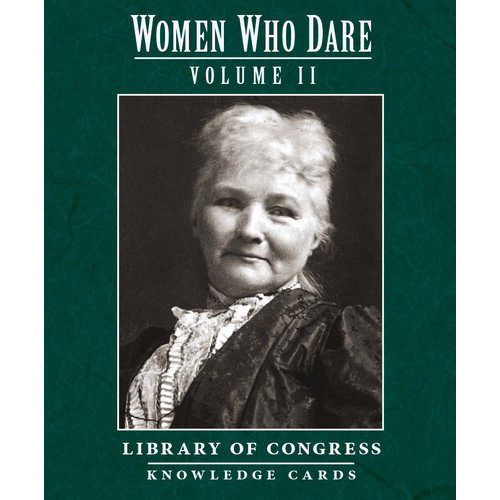 POMEGRANATE KNOWLEDGE CARDS: WOMEN WHO DARE V. 2