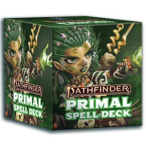 Paizo Publishing PATHFINDER 2ND EDITION: PRIMAL - SPELL DECK