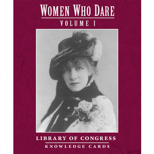 POMEGRANATE KNOWLEDGE CARDS: WOMEN WHO DARE V. 1