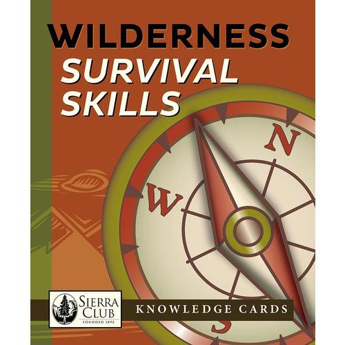 POMEGRANATE KNOWLEDGE CARDS: WILDERNESS SURVIVAL SKILLS