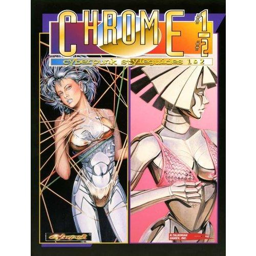 R. Talsorian Games CYBERPUNK 2020: CHROMEBOOK 1/2 - CYBERPUNK STYLEGUIDES 1 & 2