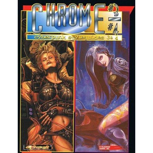 R. Talsorian Games CYBERPUNK 2020: CHROMEBOOK 3/4 - CYBERPUNK STYLEGUIDES 3 & 4