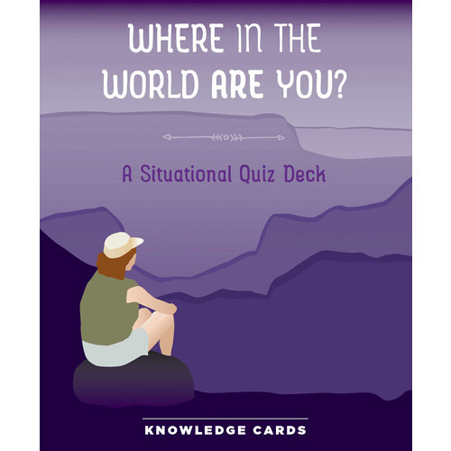 POMEGRANATE KNOWLEDGE CARDS: WHERE IN THE WORLD ARE YOU?
