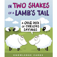 KNOWLEDGE CARDS: TWO SHAKES/LAMB'S TAIL