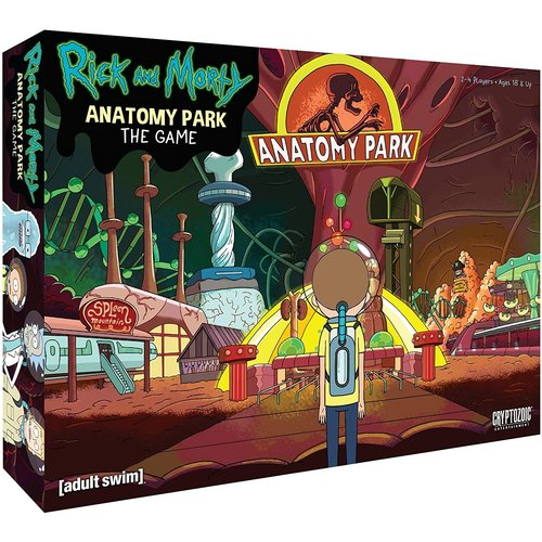 Cryptozoic Entertainment RICK & MORTY: ANATOMY PARK