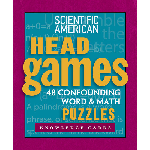 POMEGRANATE KNOWLEDGE CARDS: SCIENTIFIC AMERICAN HEAD GAMES