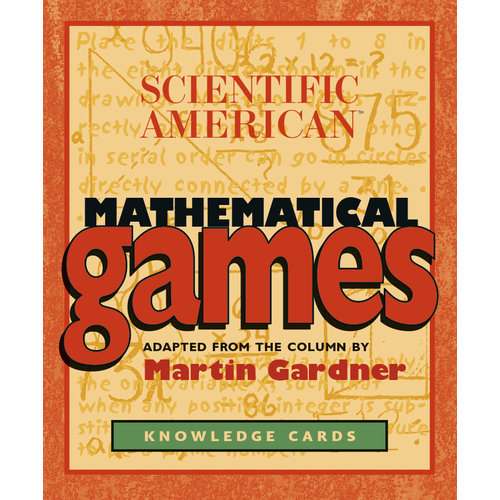 POMEGRANATE KNOWLEDGE CARDS: SCI-AM MATH GAMES