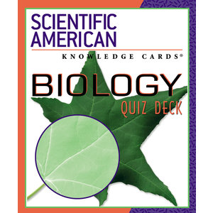 POMEGRANATE KNOWLEDGE CARDS: SCI-AM BIOLOGY QUIZ