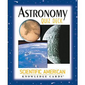 POMEGRANATE KNOWLEDGE CARDS: SCI-AM ASTRONOMY QUIZ