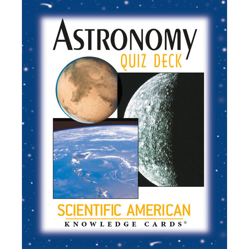 POMEGRANATE KNOWLEDGE CARDS: SCI-AM ASTRONOMY QUIZ