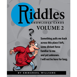 POMEGRANATE KNOWLEDGE CARDS: RIDDLES VOL 2