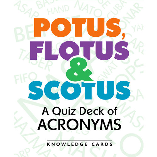 POMEGRANATE KNOWLEDGE CARDS: POTUS FLOTUS & SCOTUS