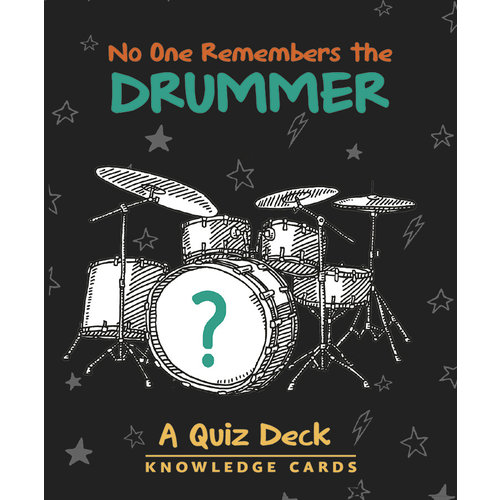POMEGRANATE KNOWLEDGE CARDS: NO ONE REMEMBERS DRUMMER