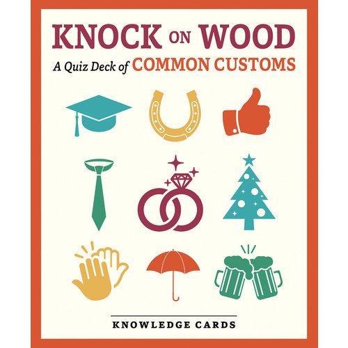 POMEGRANATE KNOWLEDGE CARDS: KNOCK ON WOOD