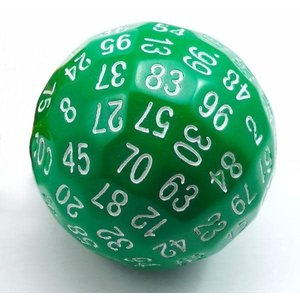 Foam Brain Games DICE D100 OPAQUE