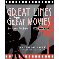 KNOWLEDGE CARDS: GREAT LINES FROM GREAT MOVIES V. 2