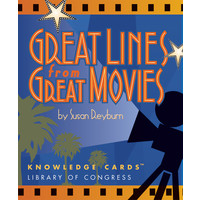 KNOWLEDGE CARDS: GREAT LINES FROM GREAT MOVIES V. 1