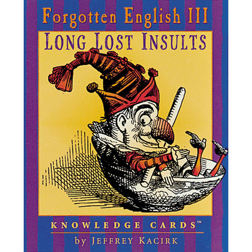 POMEGRANATE KNOWLEDGE CARDS: FORGOTTEN ENGLISH III