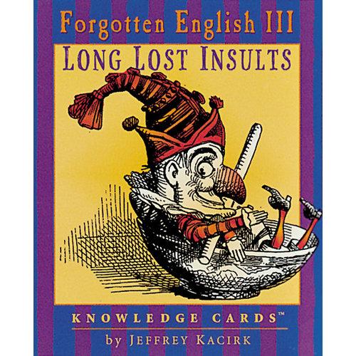 POMEGRANATE KNOWLEDGE CARDS: FORGOTTEN ENGLISH III
